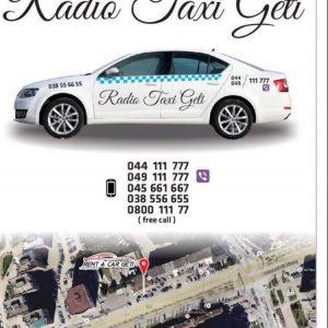 """Radio Taxi """"GETI"""""""