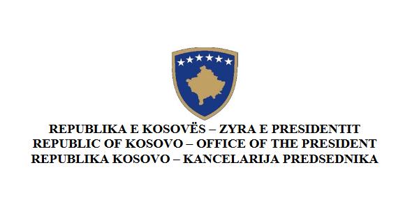 ZYRA E PRESIDENTIT TË REPUBLIKËS SË KOSOVËS